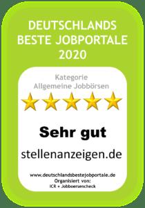 Gütesiegel Stellenanzeigen.de