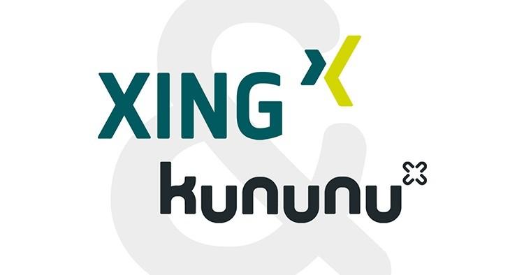 Kununu und Xing Logo