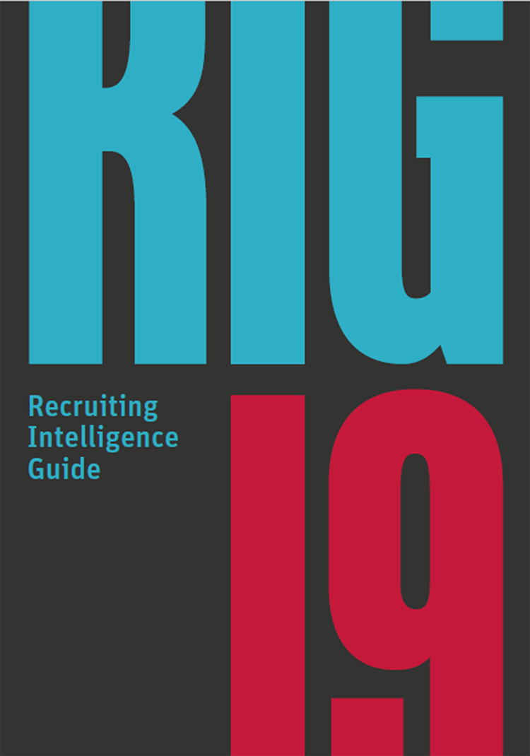 Cover vom Recruiting Intelligence Guide