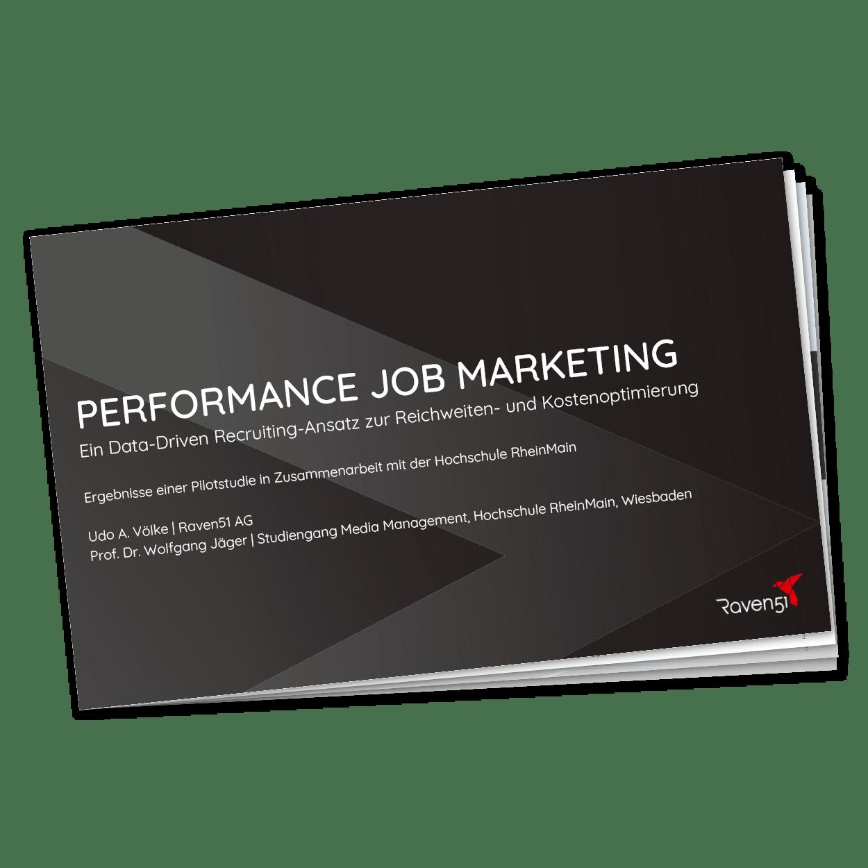Raven51 - Studie Performance-Job-Marketing