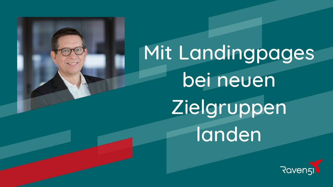 Patric Cloos - Mit Landingpages bei neuen Zielgruppen landen