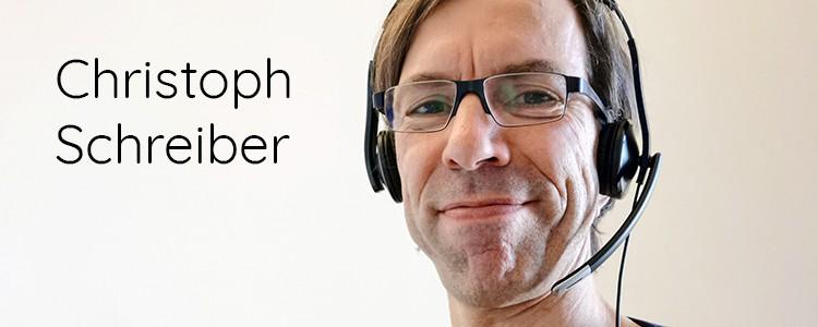 Auf ein Wort mit Christoph Schreiber